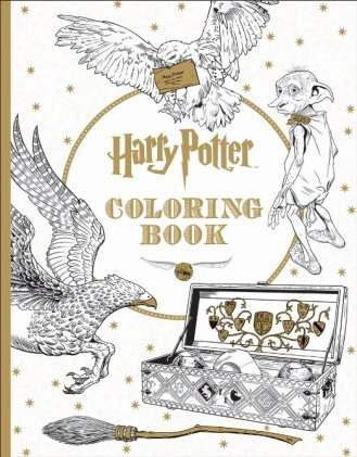 Harry Potter Coloring Book by Hot Topic